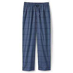 Lands' End - Blue regular broadcloth pyjama bottoms