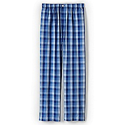 Lands' End - Blue men's broadcloth pyjama bottoms