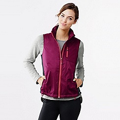 Lands' End - Purple women's performance hybrid vest