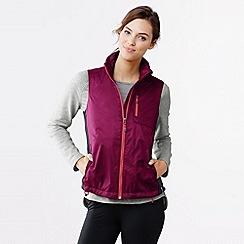 Lands' End - Purple women's performance hybrid vest