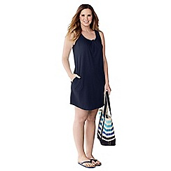 Lands' End - Blue women's cover up vest