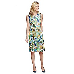 Lands' End - Multi keyhole shift dress