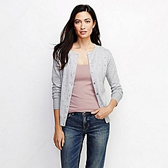 Lands' End - Pink women's light weight cotton modal rib camisole tall
