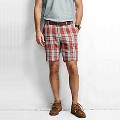 Lands' End - Multi men's classic fit summer lighthouse yarn dye shorts