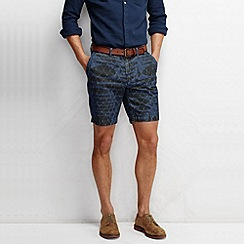Lands' End - Multi men's lighthouse print chambray shorts