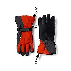 Lands' End - Orange boys' squall gloves