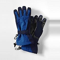 Lands' End - Blue boys' squall gloves