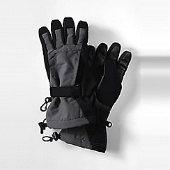 Lands' End - Black boys' squall gloves
