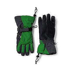 Lands' End - Green boys' squall gloves
