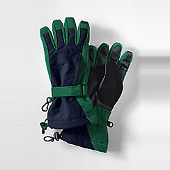 Lands' End - Green squall gloves