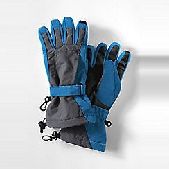 Lands' End - Blue squall gloves