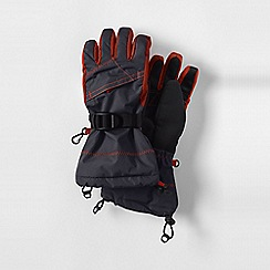 Lands' End - Grey boys' expedition gloves