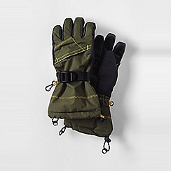 Lands' End - Green boys' expedition gloves