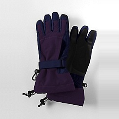Lands' End - Purple girls' squall gloves
