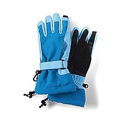 Lands' End - Blue girls' squall gloves