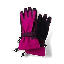 Lands' End - Pink girls' squall gloves