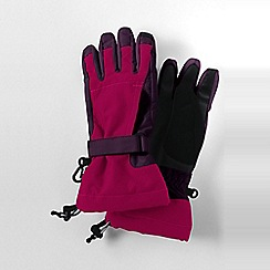 Lands' End - Pink girls' squall gloves