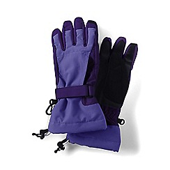 Lands' End - Blue girls' squall gloves