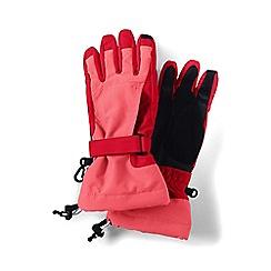 Lands' End - Orange girls' squall gloves