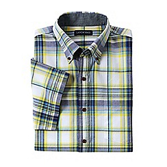 Lands' End - Multi short sleeve madras shirt