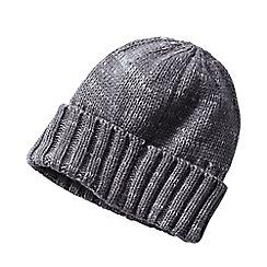 Lands' End - Grey cashtouch knit hat