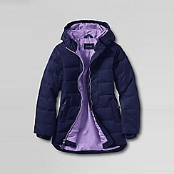 Lands' End - Blue little girls' down parka