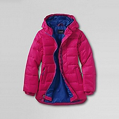 Lands' End - Pink little girls' down parka