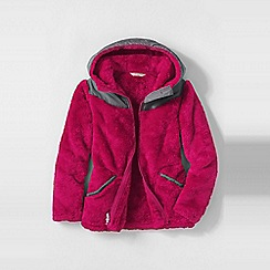 Lands' End - Pink little girls' softest fleece jacket
