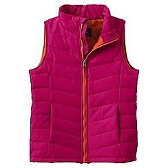 Lands' End - Pink little girls' lightweight quilted gilet