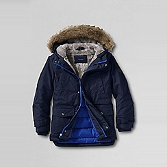 Lands' End - Blue boys' expedition parka