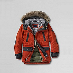 Lands' End - Orange boys' expedition parka