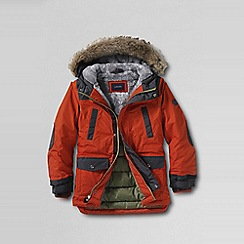 Lands' End - Orange little boys' expedition parka