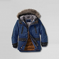 Lands' End - Blue little boys' expedition parka