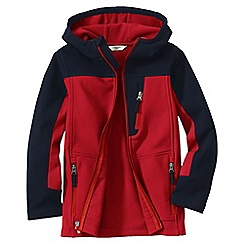 Lands' End - Orange little boys' colourblock soft shell jacket