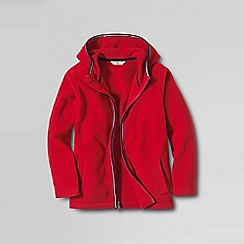 Lands' End - Red little boys' thermacheck-200 hoodie