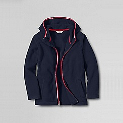Lands' End - Blue little boys' thermacheck-200 hoodie