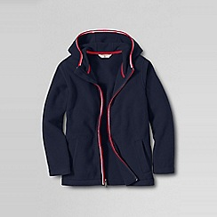 Lands' End - Blue boys' thermacheck-200 hoodie