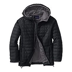 Lands' End - Black little boys' packable insulated jacket