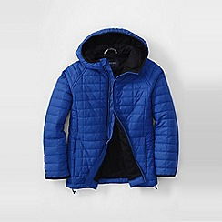 Lands' End - Blue boys' packable insulated jacket