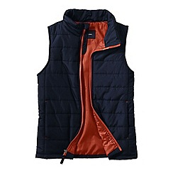 Lands' End - Blue little boys' lightweight quilted gilet