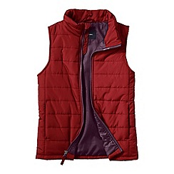 Lands' End - Red little boys' lightweight quilted gilet