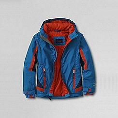 Lands' End - Blue boys' stormer jacket