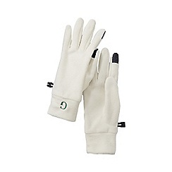 Lands' End - Cream women's fleece 100 gloves