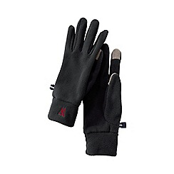 Lands' End - Black women's fleece 100 gloves