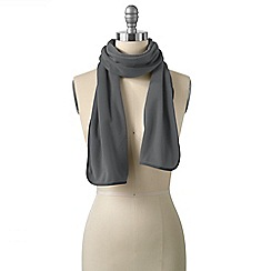 Lands' End - Grey everyday fleece 100 scarf