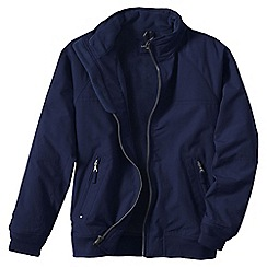 Lands' End - Blue men's regular classic squall jacket