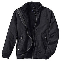Lands' End - Black men's regular classic squall jacket
