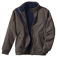 Lands' End - Brown regular classic squall jacket