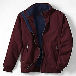 Lands' End - Purple men's regular classic squall jacket