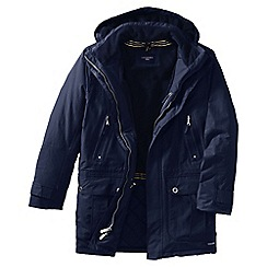 Lands' End - Blue men's classic squall parka